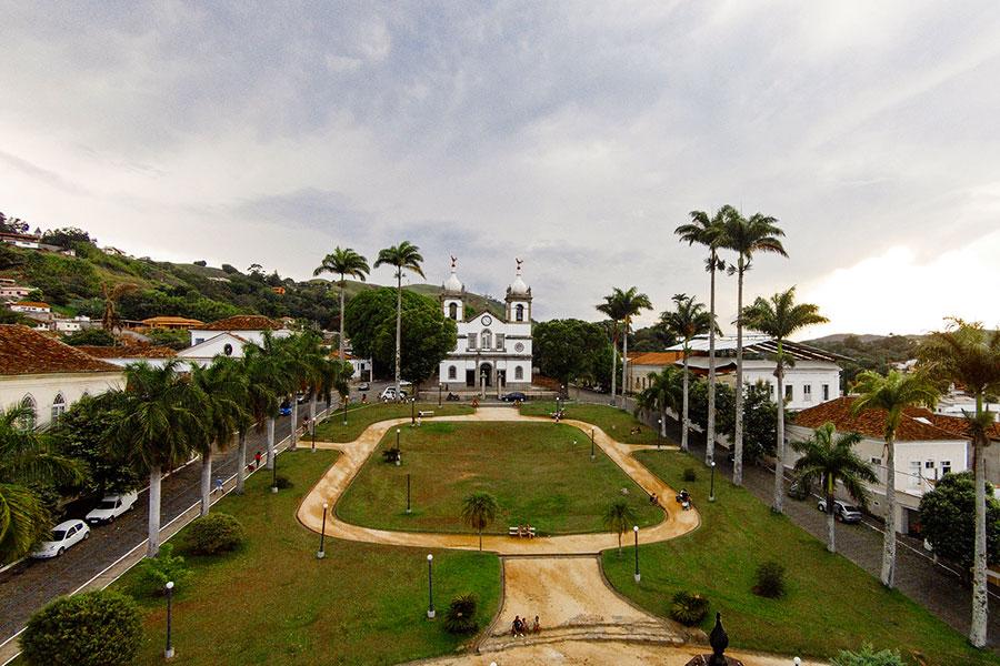 Vassouras - Praça Barão de Campo Belo